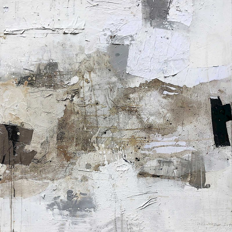 Serie White painting